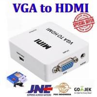 Converter / Konektor VGA to HDMI with Audio Box Mini