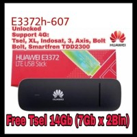 Modem Huawei E3372 4G Lte Fdd 900/1800 150Mbps - Huawei Hilink Kode