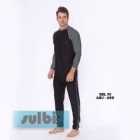 Baju Renang Pria Ukuran S dan M Tangan Panjang Dewasa SBL-50 - M