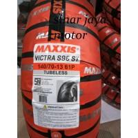 Ban Belakang NMAX 140/70-13 Maxxis VICTRA S98 ST pengganti Ma-F1st