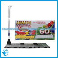 Filter Aquarium Aquascape Akuarium Undergravel ARMADA 60 cm