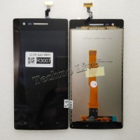 LCD OPPO R3001 R3006 R3007 HITAM MIRROR 3
