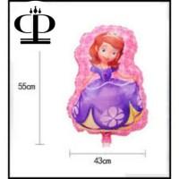 Balon Plastik Princess Sofia / Balon karakter Putri Sofia