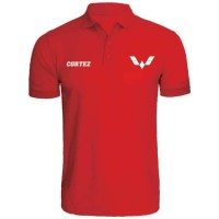 tshirt baju Kaos Kerah WULING CORTEZ BORDIR - HIGH QUALITY