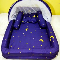 Kasur Bayi / Kasur Kolam Kelambu / Tempat Tidur Bayi BB Termurah