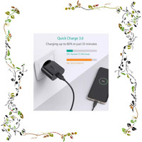 DISKONGEDE AUKEY PA T9 QUICK CHARGE 3 0 USB SINGLE PORT WALL CHARGER