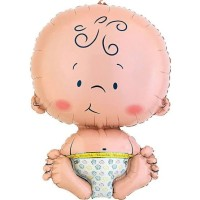 Balon foil baby boy / baby shower / balon bayi laki-laki