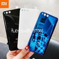 Tutup Baterai Xiaomi Mi6 Mi 6 Glass Casing HP Backdoor Kaca Xiomi Mi6