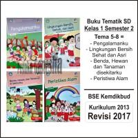 Buku Paket Tematik SD Kelas 1 Tema 5 6 7 8 BSE Dikbud Revisi Terbaru