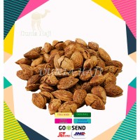 Kacang Almond Roasted ( Kacang Panggang ) In shell USA /500gr Murah