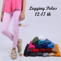 Legging Polos Size Remaja ABG Tanggung 12 Tahun Ke Atas / Leging Anak