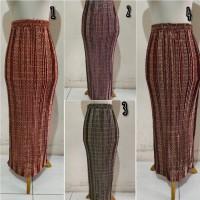 rok plisket panjang motif songket,tannisa collection