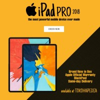 Apple iPad Pro 2018 11 inch 64GB Wifi Only SILVER & SPACE GREY