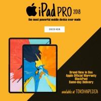 Apple iPad Pro 2018 11 inch 64GB 4G Wifi Cellular SILVER, SPACE GREY