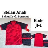 Stelan / Baju Bola / Futsal Anak Specs - Merah