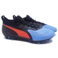 Sepatu bola Puma One 19.3 Blue FG Original