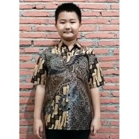 Kemeja Baju Anak Laki Laki Seragam Sekolah Batik 2701 Balita PAUD TK