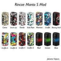 rincoe manto s mod box 228watt AUTHENTIC 100% By RINCOE (ONLY MOTIF)