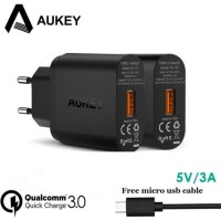 Aukey PA-T9 QUICK CHARGE 3.0 FAST CHARGING 3A