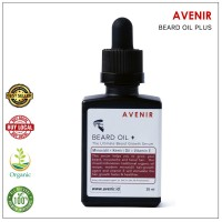 Avenir Beard Oil Plus - With Minoxidil & Vitamin E. Serum penumbuh