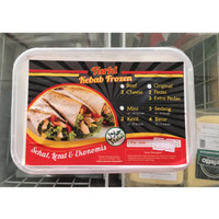 Kebab Turki Mini Frozen Foods 10s