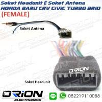 Socket Soket Audio Tape Headunit HONDA BARU CRV CIVIC TURBO BRIO