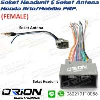 Soket Audio Tape Headunit Honda Brio Mobilio BRV HRV FEMALE
