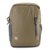 Urban State - Poly Nylon Campus Backpack - Brown