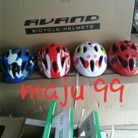helm sepeda anak anak merk avand by united
