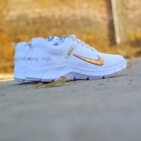 Dropship Only Cod !!! Sepatu Nike Air Presto Putih Centang Emas