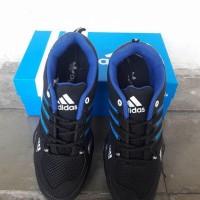 Sepatu Pria Adidas Ax2 Hitam Biru / Sport / Outdoor / Jogging / Lari