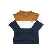 Mon Cheri Sweater Anak Colorblock Mustard