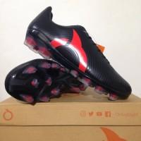 Sepatu Bola OrtusEight Forte Helios FG Black Ortred 11010003 Original