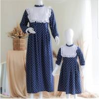 couple baju setelan ibu dan anak 3-5 thn dress natal pesta birel