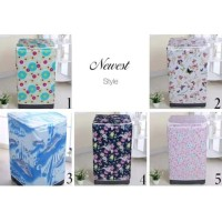 NEWEST STYLE COVER MESIN CUCI SATIN TYPE A