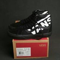 Sepatu Vans sk8 hi reiissue black ( sepatu vans / sepatu tinggi )