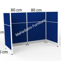 Sekat meja kerja / partisi pembatas meja kerja / panel workstation