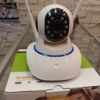 Wireless Tekhobi IP Cam Kamera Camera CCTV 3 Antena 360 derajat Ningh