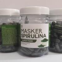 Masker Spirulina Original    Masker Pencerah wajah ( isi 50 kapsul )