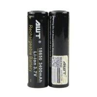 Baterai AWT 3400mAh Hitam 18650 Black Vapor Battery 3400 mAh versi 2