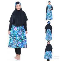 Baju Renang Muslimah Muslim Hijab Dewasa Remaja Jumbo Syar'i