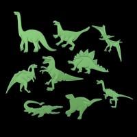 786 Glow in The Dark Star Sticker Stiker Dinding Set Model Dinosaurus