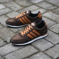 Sepatu Adidas Gazelle II Choco white sol gum Original BNWB