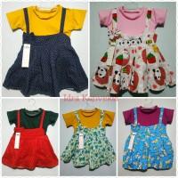 Dres Overall DRESS anak 1-2 thn Baju anak perempuan Rini konveksi