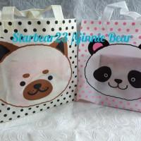 Tas goodie bag motif animal