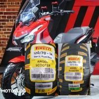 Ban Pirelli Angel Scooter 120/70-14 & 140/70-13 For Honda ADV 150