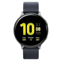 SAMSUNG GALAXY WATCH ACTIVE 2 [44 MM] ALUMINIUM BLACK - GARANSI RESMI_