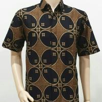 Kemeja Batik Big Size 4L-5L Baju Atasan Hem Pria Batik Jumbo MWR-KWG