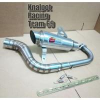 knalpot CLD monster beat fi karbu Mio sporty Vario Scoopy
