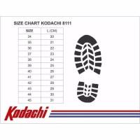 Sepatu Kodachi Ar Ukuran 37-43 - Badminton Volley Tennis - Putih, 37